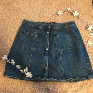 Urban Outfitters BDG Button-Front Denim Skirt💧